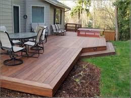 deck designs for small backyard u2014 smith design closed small yard
