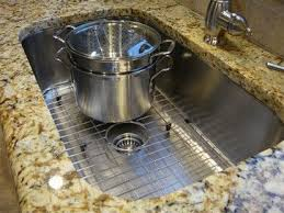 Best Sinks Images On Pinterest Kitchen Ideas Undermount - Kitchen sink grid