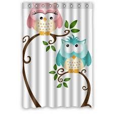 Owl Fabric Shower Curtain 44 Best Owl Garden Images On Pinterest Cute Owl Owl Cartoon And