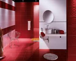 girls bathroom themes cream red colors wall paints turquoise wall
