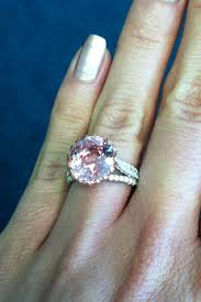 padparadscha sapphire engagement ring 3 in the jewelry week countdown padparadscha sapphire and