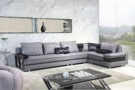 Modern Furniture Design High End Fabric Sectional SofaFabric - Modern sofa set designs