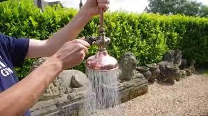 antique victorian copper u0026 brass shower head in working order