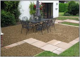 Installing Pea Gravel Patio Laying Patio Pavers Without Gravel Patios Home Design Ideas