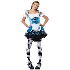 alice wonderland halloween costumes alice in wonderland halloween costume teen junior fancy dress ebay