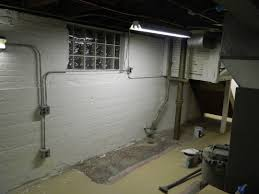 chic and creative drylok paint basement walls waterproofing with
