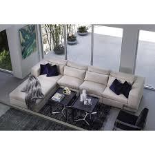 Bernhardt Sectional Sofa City Furniture Como Lt Beige Fabric Large Sofa