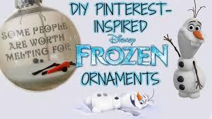 diy frozen inspired olaf ornaments