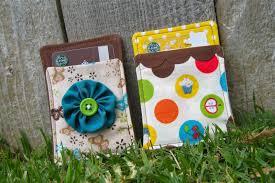 random craft handmade christmas fabric gift card holders