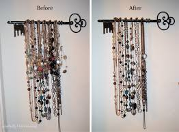 make necklace holder images Good idea to reface the simple diy jewelry holders which is made jpg
