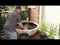 How To Make A Patio Garden How To Build A Patio Pond Indoors Or Outdoors Or On Your Balcony