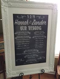 customized wedding programs wedding program printable template wedding party sign