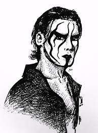 sketches for sting wwe sketches www sketchesxo com