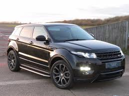evoque land rover used santorini black land rover range rover evoque for sale
