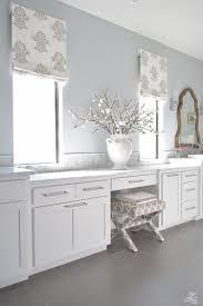 Roman Bathroom Accessories by Faux Roman Shade Details White Luxury Master Bath White Carrara