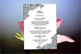 diy wedding menu cards 23 wedding menu templates design trends premium psd vector