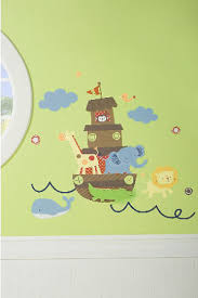 Noah S Ark Crib Bedding Noah S Ark Baby Nursery Wall Stickers And Decals With Animals