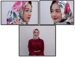 tutorial hijab resmi semi formal and formal look ala laudya cynthia bella hijab tutorial