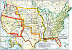 map us expansion maps of united states growth of nation