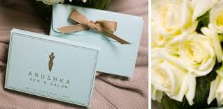 spa gift cards gift cards anushka spa salon cosmedical centre