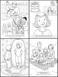 robbygurl u0027s creations the friend magazine mini coloring book