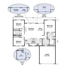 floor plans with great rooms the winchester custom home floor plan adair homes