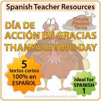 día de acción de gracias vocabulario y tradiciones