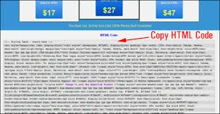 wp cheat cut and paste html templates for wordpress