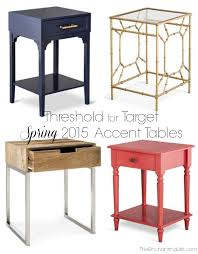 target furniture accent tables threshold s spring home collection at target the enchanting life