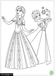 frozen disney coloring pages ecoloringpage printable