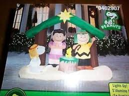 Peanuts Outdoor Christmas Decorations Peanuts Christmas Ebay