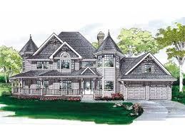 Queen Anne Style House Plans Queen Anne House Plan With 2632 Square Feet And 4 Bedrooms From
