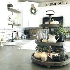 farmhouse kitchen decor ideas kitchen counter decor items 2 decoration best most kitchen counter