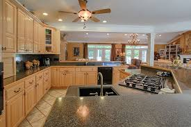 Ceiling Fan For Kitchen With Lights Traditional Kitchen With Ceiling Fan U0026 L Shaped In Lenoir City Tn