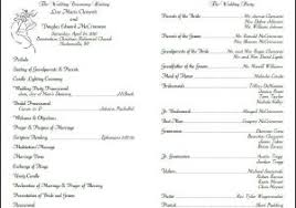 christian wedding program catholic wedding program template free wedding ceremony