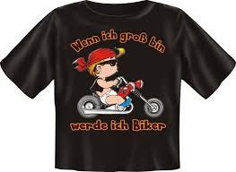 sprüche t shirt t shirt baby biker motorrad kinder shirt spruch witzig