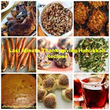 thanksgiving hanukkah recipes images search