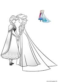 elsa anna bff frozen coloring pages printable