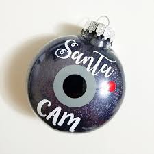 Extra Large Plastic Christmas Ornaments by Santa Cam Ornament Alittleladyandme Santa Cam Ornament Santa