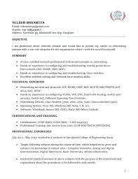 Network Engineer Sample Resume by Ccna Resume Resume Cv Cover Letter