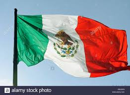 Flag With Red Yellow And Green Vertical Stripes Flag Mexico Stockfotos U0026 Flag Mexico Bilder Alamy