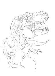 tyrannosaurus coloring page by stuntmanmike666 on deviantart