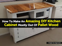 diy kitchen furniture pallet kitchen cabinet via imgur com 1 jpg