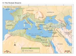 Map Of The Roman Empire Bible Maps