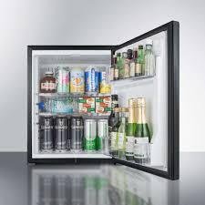 mini bar refrigerator glass door summit mbh31b 17 inch minibar refrigerator for hotels and suites