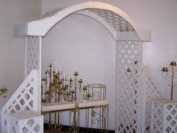 Rent Wedding Arch Wedding Arch White Wood Rentals Stillwater Mn Where To Rent