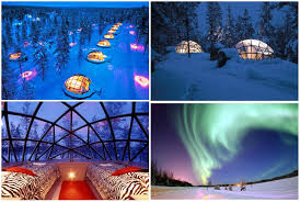 norway northern lights igloo best places to see the northern lights travel mania
