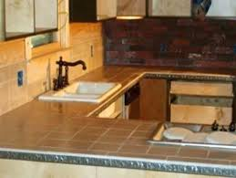 kitchen tile countertop ideas tile kitchen countertops ideas this kitchen features square