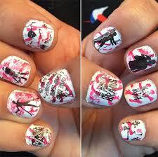 50 awe inspiring halloween nail art designs fashionisers