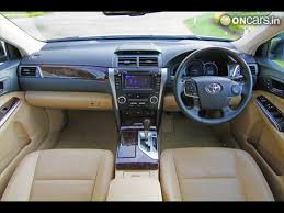 2015 Camry Interior Toyota Camry Hybrid Interior Photos India Com Photogallery